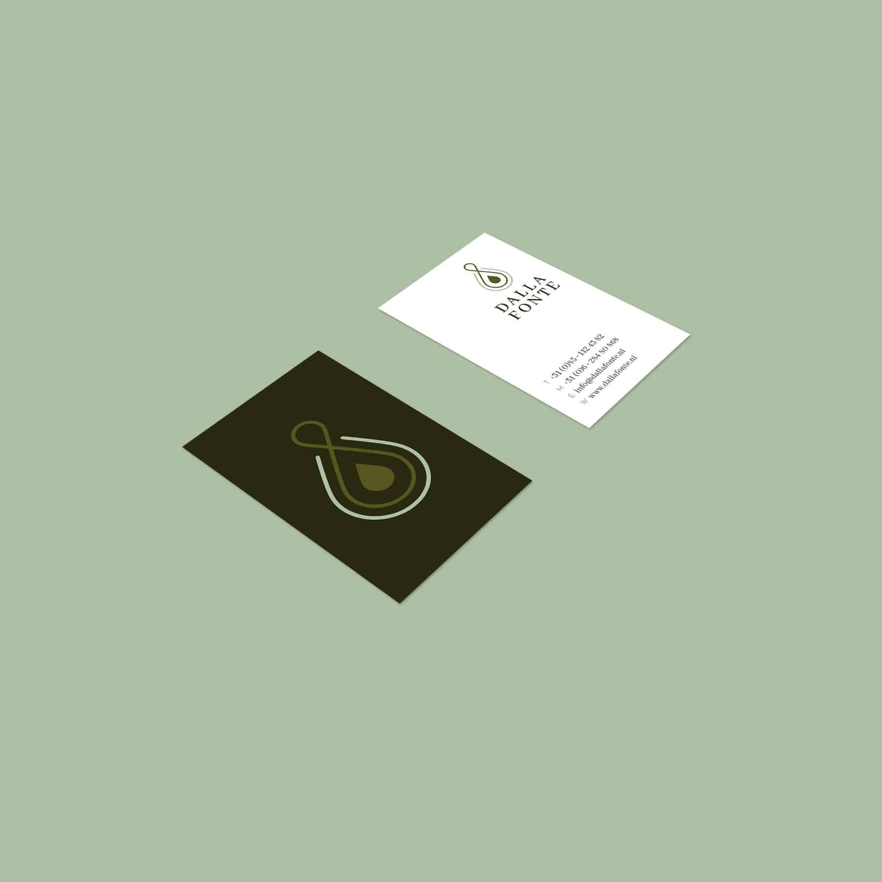 Design business cards for Dalla Fonte