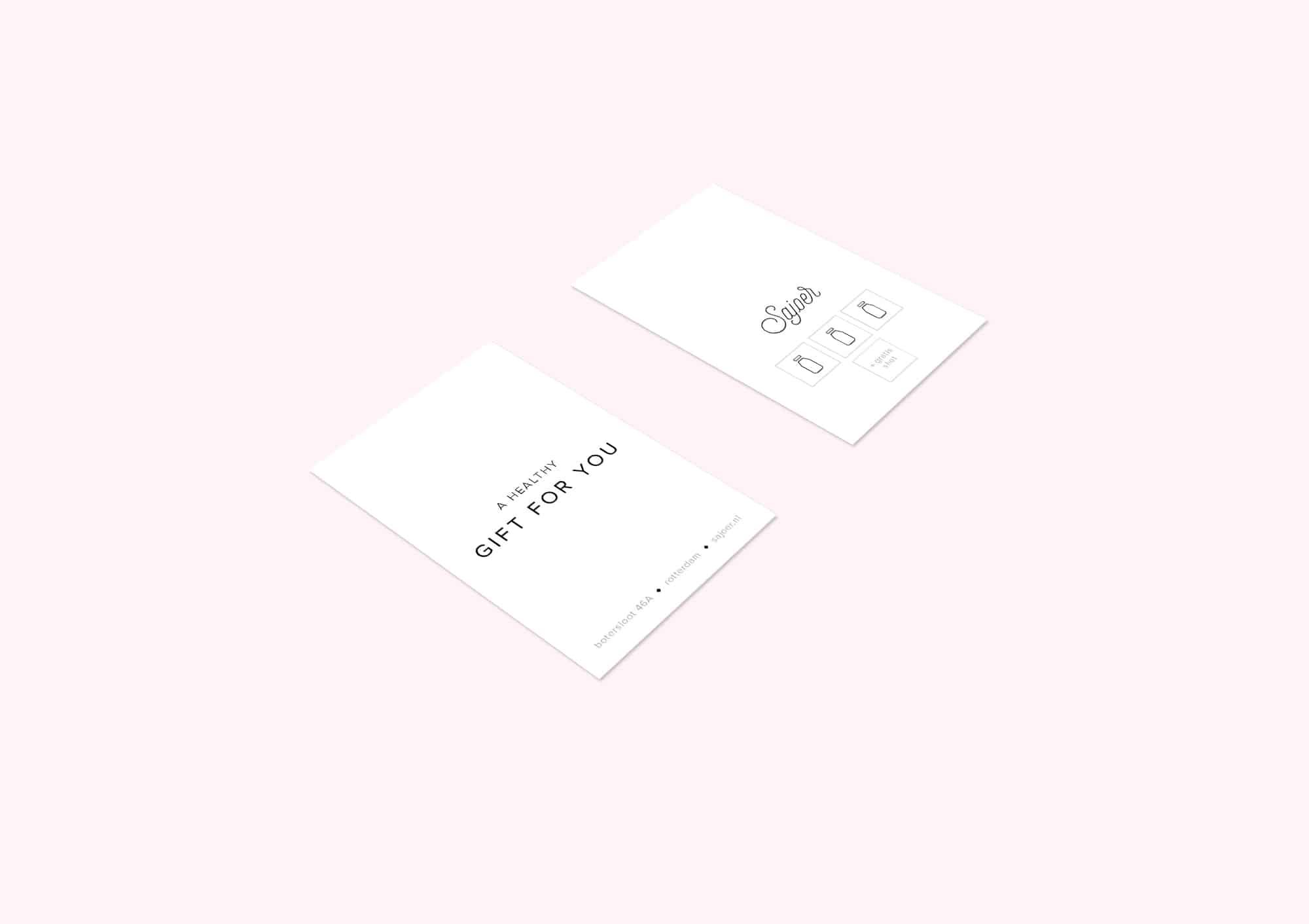 Design business cards for Sajoer Rotterdam