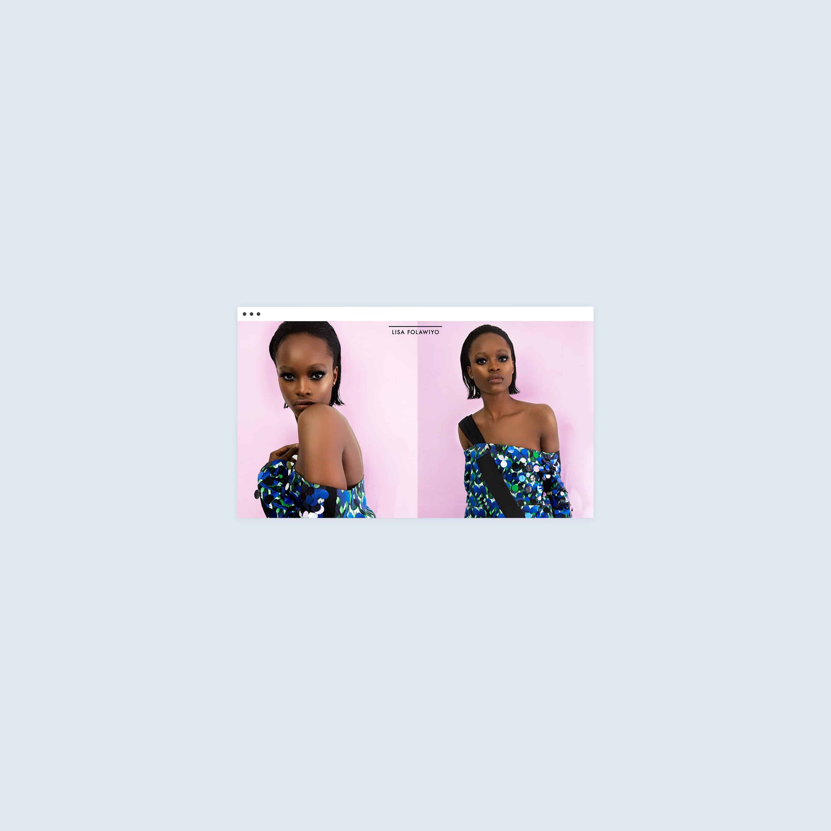 Website for Lisa Folawiyo