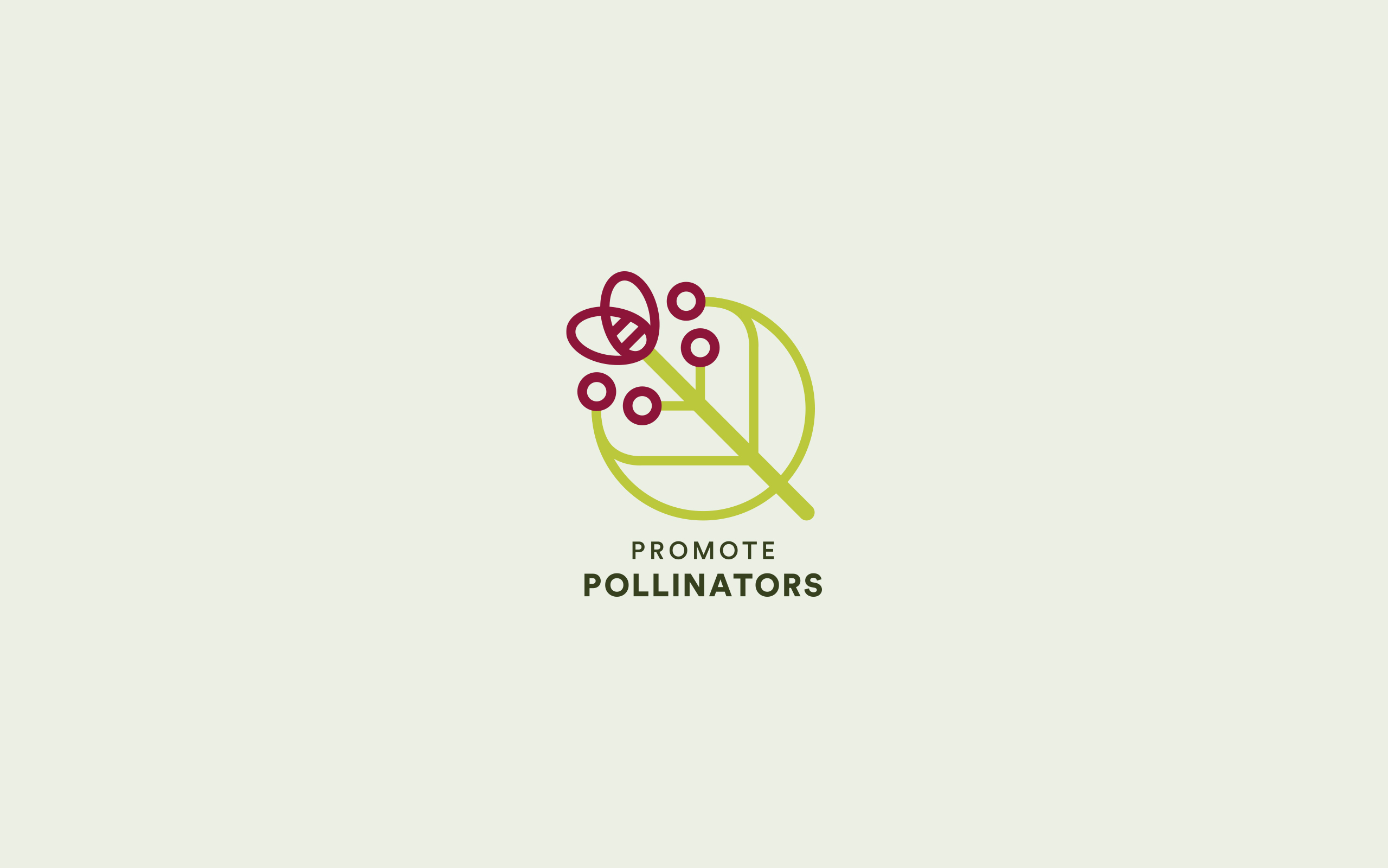 Logo and branding for Promote Pollinators