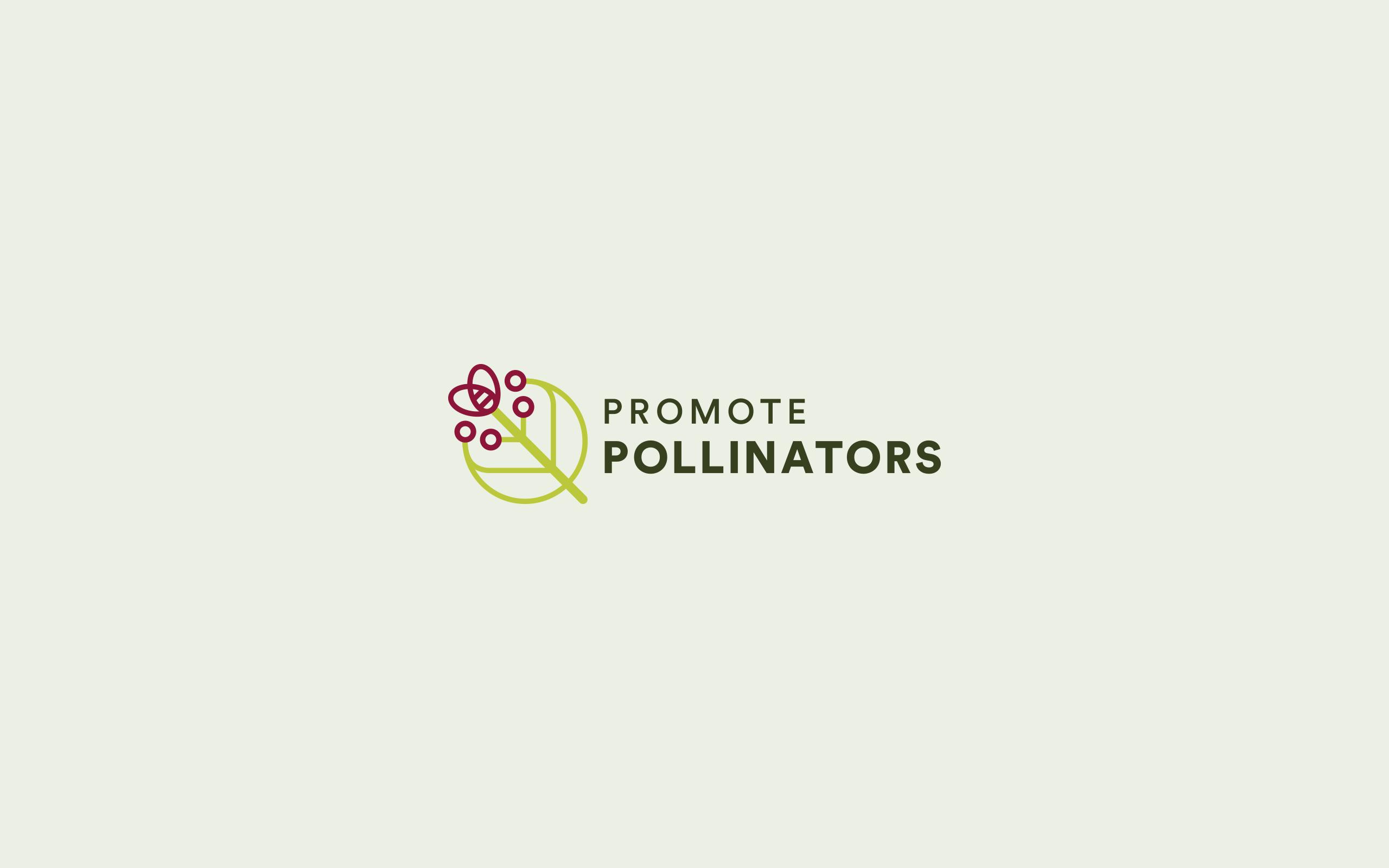 Logo Design for Promote Pollinators