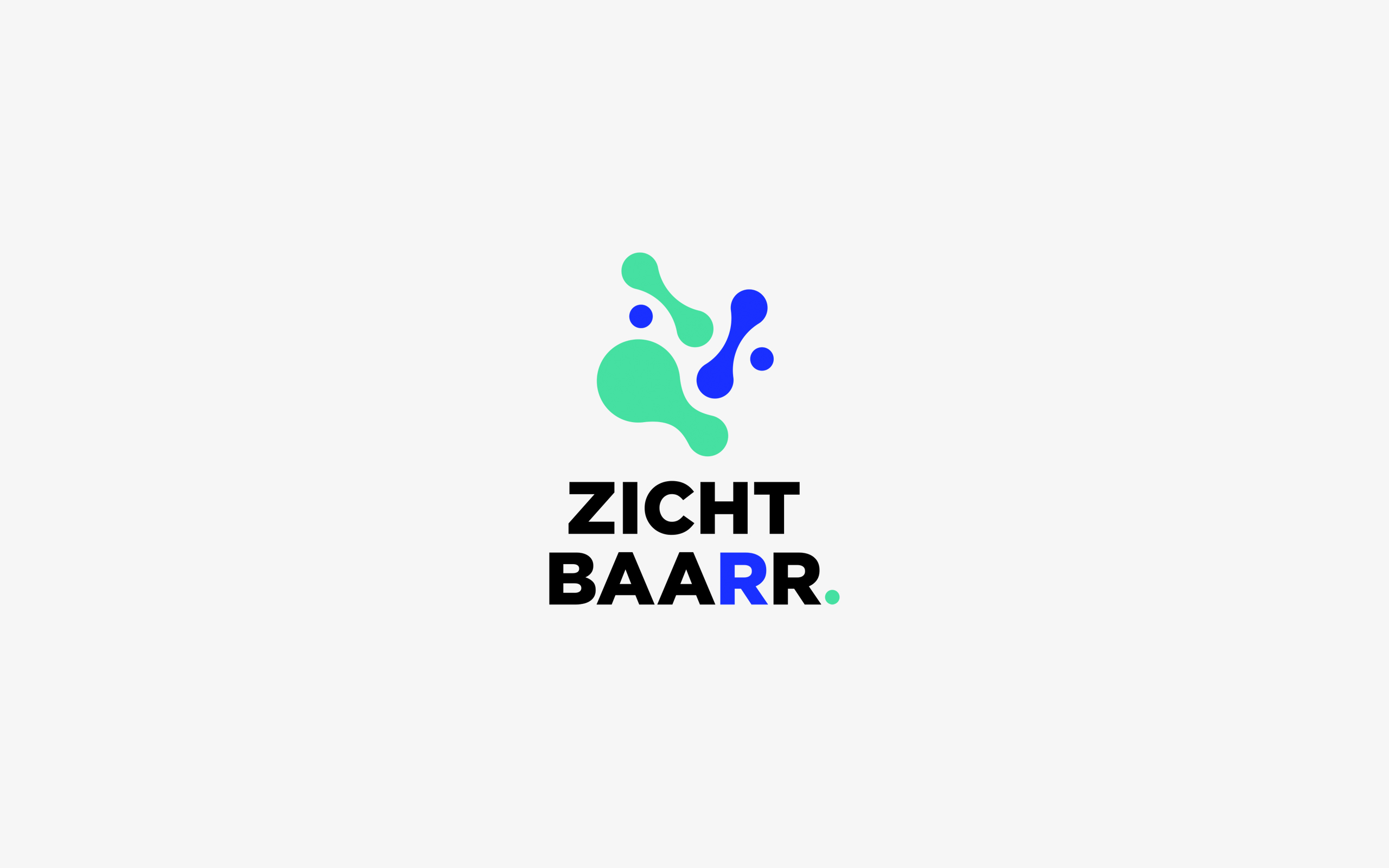 Logo design for Zichtbaarr