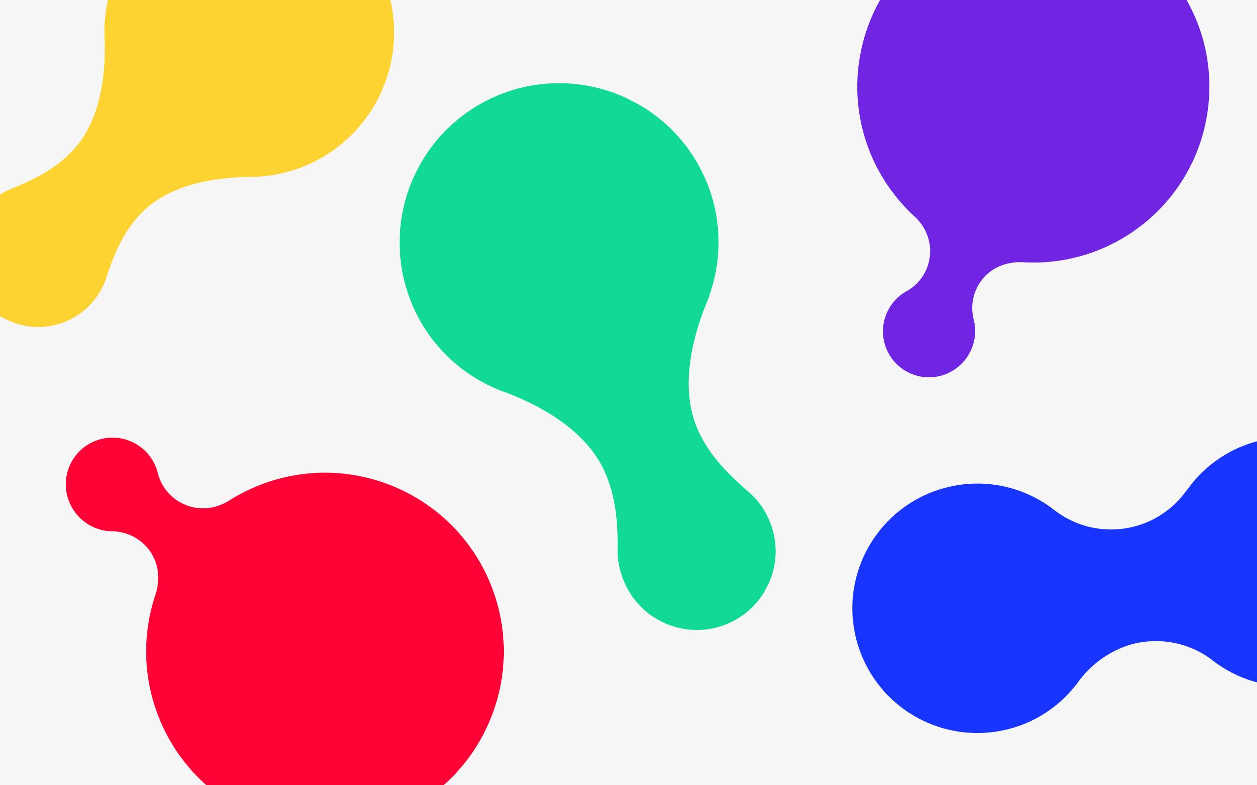 Design DNA shape illustrations for Zichtbaarr